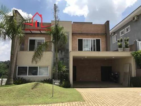 Casa A Venda No Bairro Alphaville Em Santana De Parnaíba - - 3159-1
