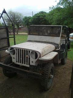 Excelente Jeep Willys Para Restaurar Con Papeles Al Día