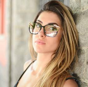 cb5e86ac3 Oculo Grau Feminino Quadrado Fino - Óculos no Mercado Livre Brasil