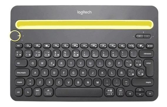 Teclado Logitech K480 Bluetooth Smartphones Tablet Espanhol
