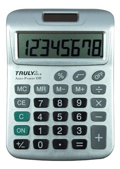 Calculadora 6001-8 Truly 8 Dígitos Extra Grandes