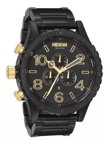 Relógio Vi1740 Nixon 51-30 Preto Lançamento 2019 C/ Caixa