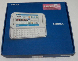 Smartphone Nokia C6-00 N-series Black Teclado Deslizante