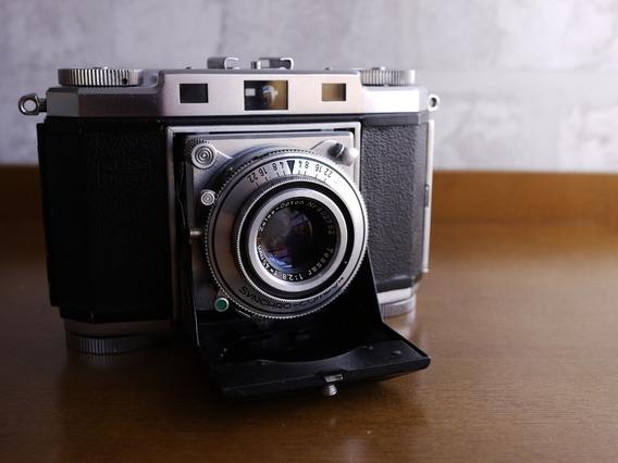 Zeiss Ikon Contina Rangefinder 35mm Tessar Opton 45mm F2.8