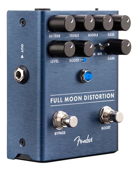 Pedal Distorção Guitarra Fender Full Moon C/ Boost Promoção!