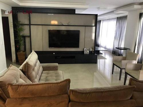 Apartamento Com 4 Suítes À Venda, 250 M² Por R$ 2.099.200 - Meia Praia - Itapema/sc - Ap1286
