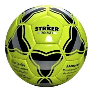 Pelotas De Futbol Striker N 4 Dynasty Cosida Cuero Sintetico