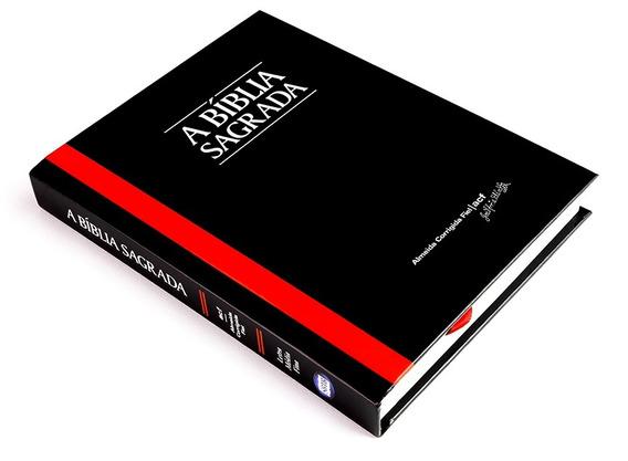 Bíblia Acf Letra Média Fina - Capa Dura Preta - Cód. 2515