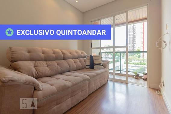 Apartamento No 2º Andar Mobiliado Com 2 Dormitórios E 2 Garagens - Id: 892983390 - 283390
