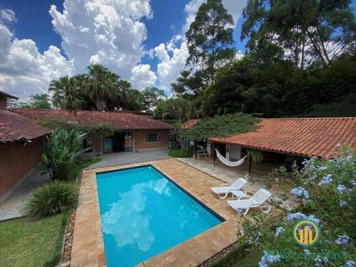 Imagem 1 de 15 de Cond. Jd Algarve. Casa De Campo Térrea. Piscina, Gourmet, Lareira E Quadra - M799
