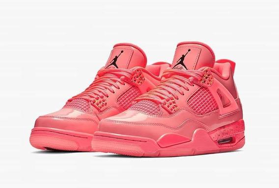 Zapatillas Nike Jordan Retro 4 Hot Punch Mujer
