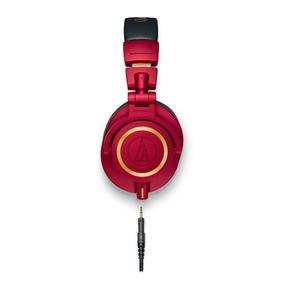 Promoção Fone Ouvido Audio-technica Ath-m50x Rd Vermelho