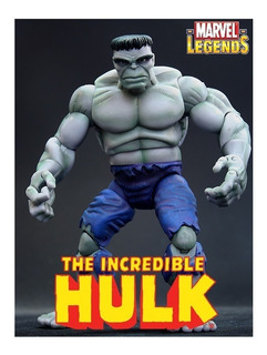 Hulk: First Appearance. Marvel Legends (serie Galactus) 2005
