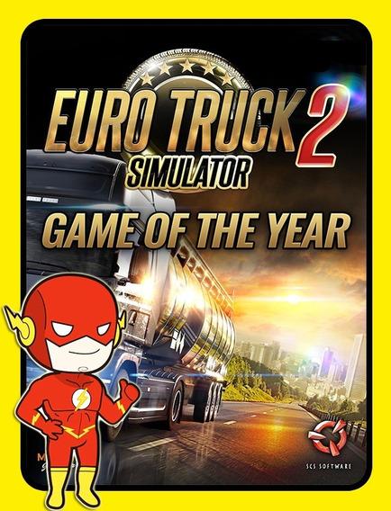Euro Truck Simulator Goty 2 Pc - Steam Key (envio Flash)