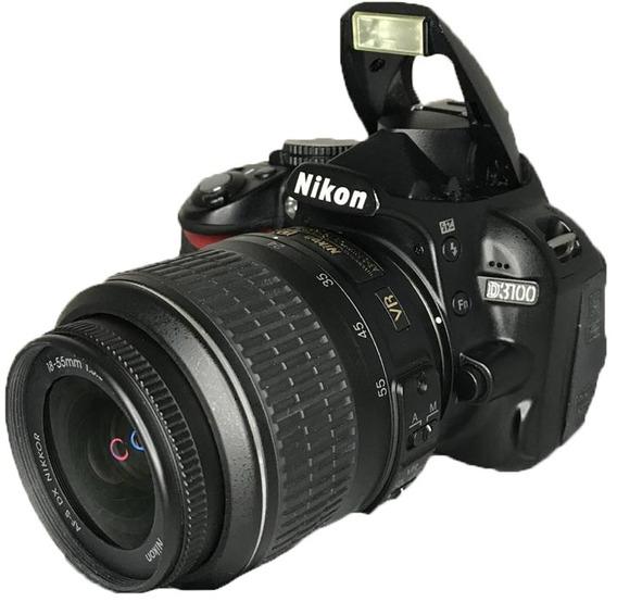 Câmera Nikon D3100 Seminova Perfeito Estado