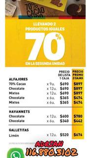 Havanna Alfajor Y Chocolate