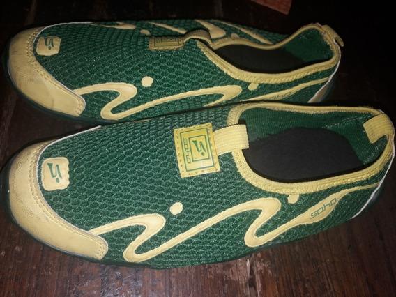 Zapatillas Soho Aqua Nuevas Sin Uso 36