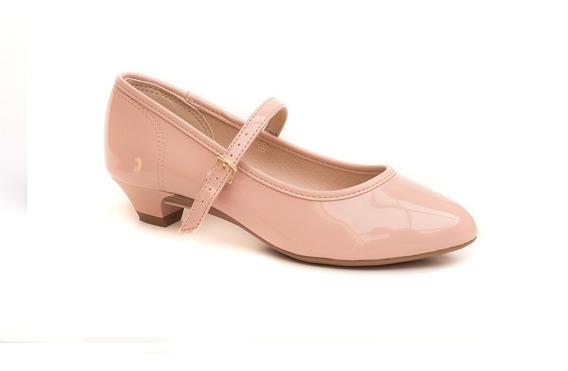 Sapato Infantil Molekinha Verniz Conforto E Elegância