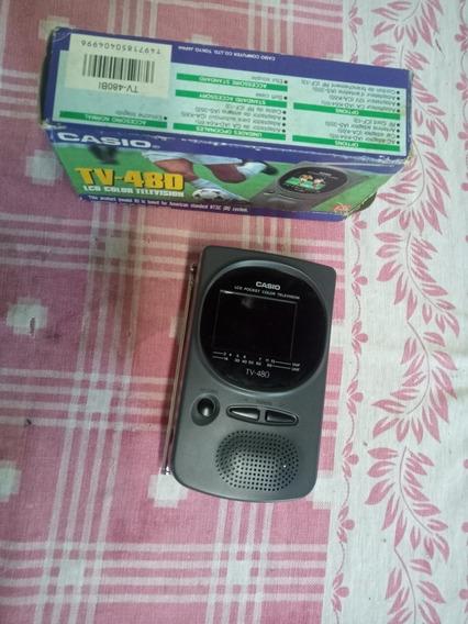 Mini Tv Casio 480 Não Funciona Ler Anuncio