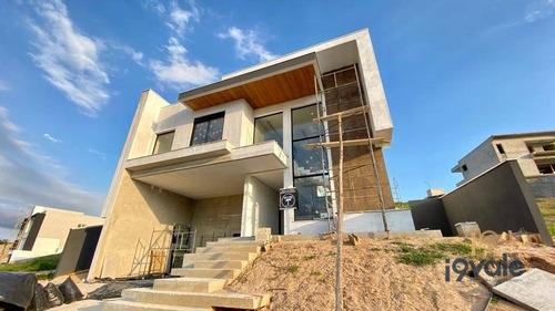 Lindo Casa Em Construção À Venda,  Condomínio Alphaville Ii - São José Dos Campos/sp - Ca1839