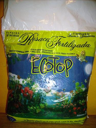 Resaca Fertilizada Ecotop®  X 25 Dm³- Envios
