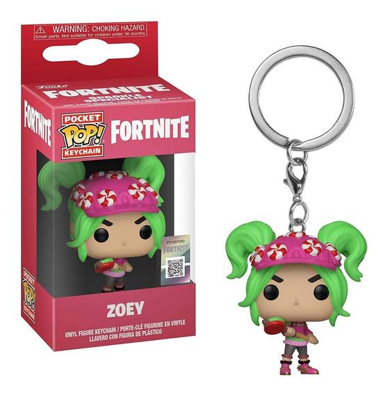 Llavero Funko Pop Fortnite Zoey
