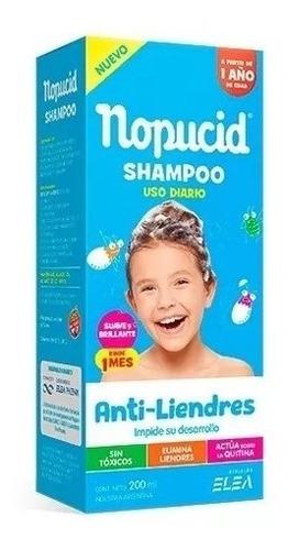 Nopucid Shampoo Uso Diario Piojicida Magistral Lacroze