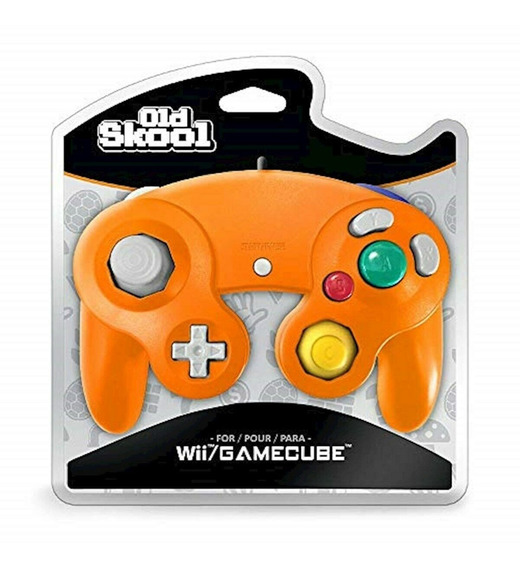 Controle Old Skool Game Cube - Excelente Qualidade