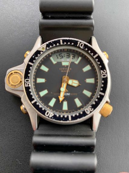 Relógio Citzen Aqualand Anos 90