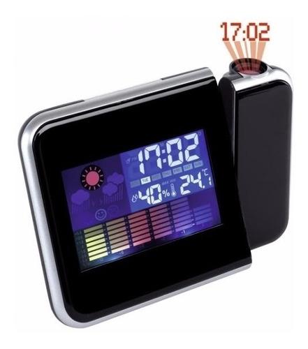Imagen 1 de 2 de Reloj Despertador Con Proyector Laser De La Hora