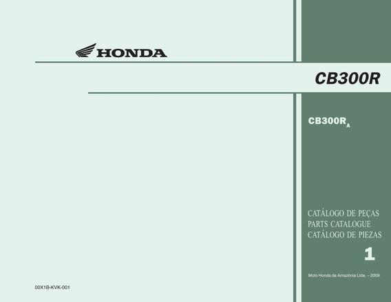 354356434 Cb300r Cb300r A Catalogo De Pecas Parts Catalogue