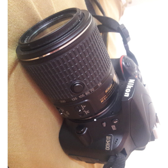 Camara Nikon D3400 + Lente 18-105mm Vr