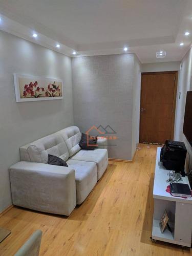 Imagem 1 de 30 de Apartamento Mobiliado E Planejado Com 2 Dormitórios À Venda, 49 M² Por R$ 223.000 - Itaquera - São Paulo/sp - Ap0181