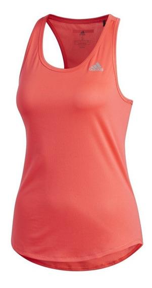 Regata Feminina adidas Dx2330 - Coral Fluor