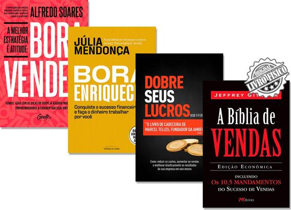 Kit - Dobre Seus Lucros + A Bíblia De Vendas + 2