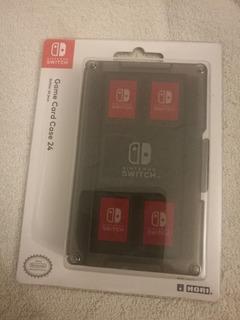 Estuche Nintendo Switch Game Card Case Para 24 Juegos