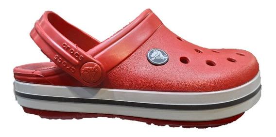 Sandalias De Niño Crocs Crocband Bord Cbo