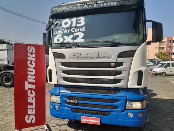 Scania R440 6x2 2013 Optcruise Euro 5 Teto Alto Selectrucks