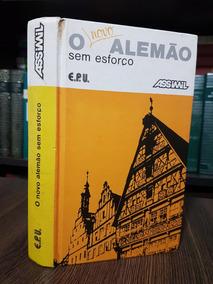 Raro - O Novo Alemão Sem Esforço Assimil - Método - Original