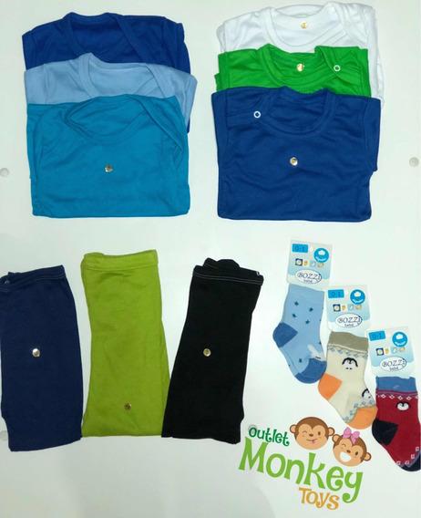 Pack Mudas 39 Piezas (12 Bodys - Camisetas -pantys - Calceta
