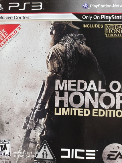 Medal Of Honor Ps3 Original ,a Pronta Entrega