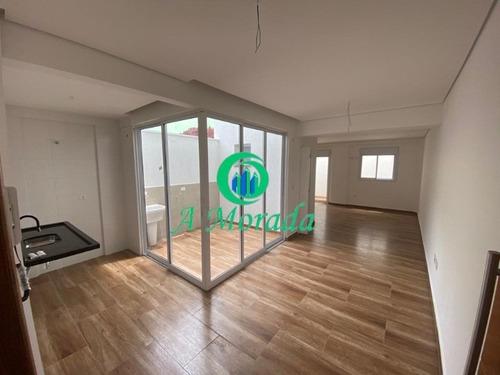 Apartamento Com Sistema De Inteligência Alexa - Santo André! - Ap02777 - 68680631