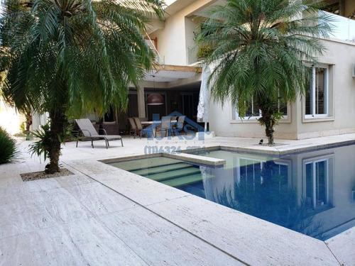 Imagem 1 de 10 de Sobrado Com 4 Dormitórios À Venda, 750 M² Por R$ 9.500.000,00 - Residencial Dois (tamboré) - Santana De Parnaíba/sp - So1537