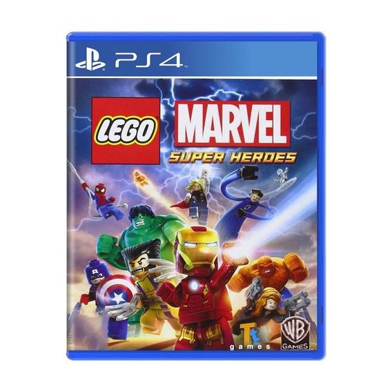 Lego Marvel Super Heroes Ps4 Novo Lacrado Ab Games