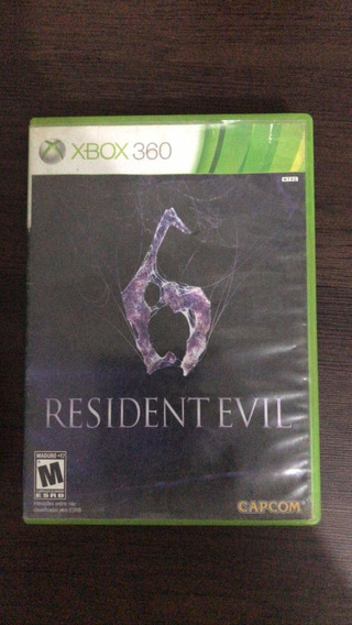 Resident Evil 6 -xbox 360 - Mídia Física