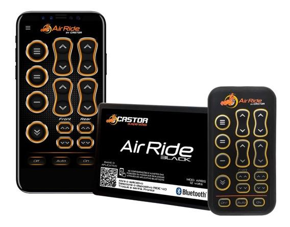 Modulo Air Ride Black + Controle Com Bluetooth Castor