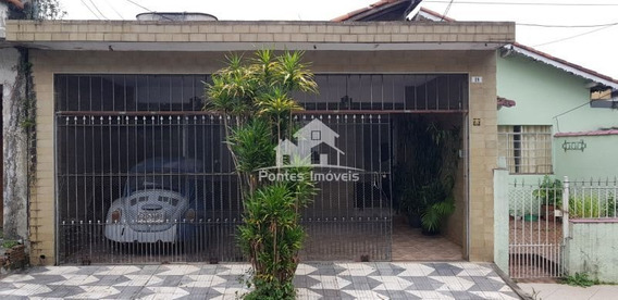 Casa Térrea 3 Quarto(s) Para Venda No Bairro Parque São Vicente Em Mauá - Sp - Cas315
