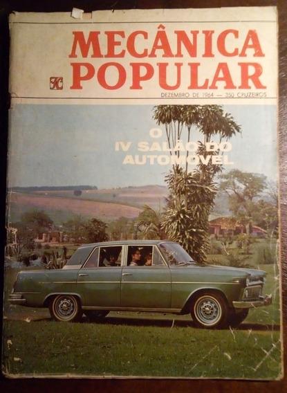 Mecânica Popular Volume 60 Dezembro 1964