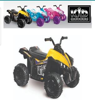 Moto Eléctrica Para Niños Marca Kids Motors Monster