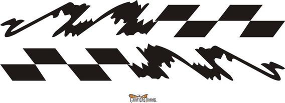 Calcos Tuning Laterales Motos 14 X Dos - Graficastuning